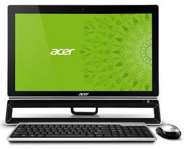 Моноблок ACER Aspire ZS600t, Intel Core i7 3770, 8Гб, 1000Гб, nVIDIA GeForce GT640 - 4096 Мб, DVD-RW, Windows 8, черный [dq.slter.019]