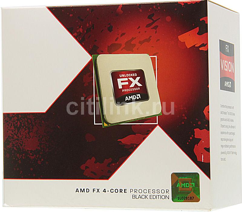 Процессор AMD FX 4300, SocketAM3+ BOX