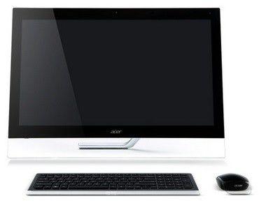 Моноблок ACER Aspire 7600U, Intel Core i5 3230M, 6Гб, 1000Гб, 32Гб SSD,  nVIDIA GeForce GT640M - 2048 Мб, Blu-Ray, Windows 8, черный [dq.sl6er.007]