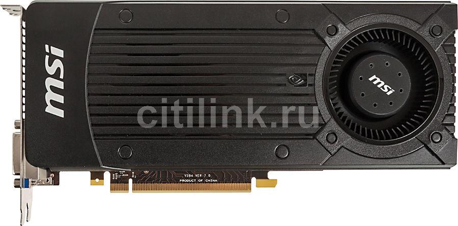 Видеокарта MSI GeForce GTX 660Ti,  2Гб, GDDR5, OC,  Ret [n660ti 2gd5/ocv1]