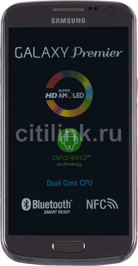 Смартфон SAMSUNG Galaxy Premier GT-I9260  16Gb, серый
