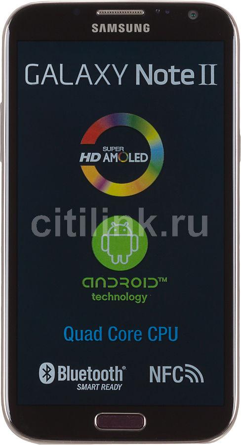 Смартфон SAMSUNG Galaxy Note II GT-N7100  16Gb, красный