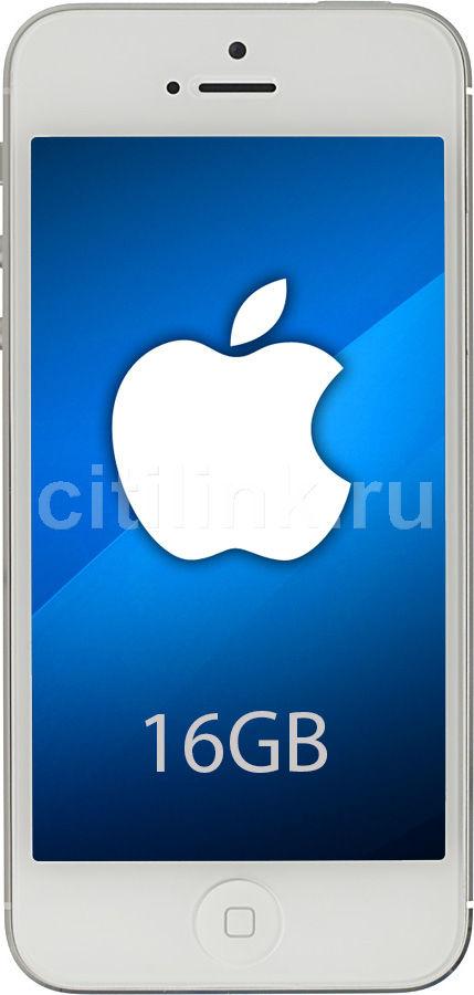 Смартфон APPLE iPhone 5 MD298/MD655  16Gb, белый