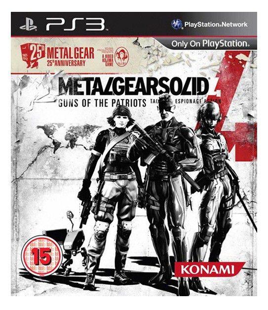Игра SONY Metal Gear Solid 4: Guns of the Patriots для  PlayStation3 Eng