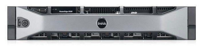 Сервер Dell PE R520 2xE5-2440/32(4x8 2RLVRDIM 1.3)/SAS 2x300GB 15K3.5/RW/H710p/iD7En+IDrPC/RPS/3YPNB [210-40044-6]