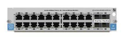 Модуль HP ProCurve Switch vl 20p Gig-T+4 SFP Mod (J9033A)