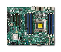 Серверная материнская плата SUPERMICRO MBD-X9SRA-B,  bulk