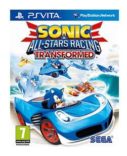 Игра SONY Sonic & All-Stars Racing Transformed для  PlayStation Vita Rus (документация)