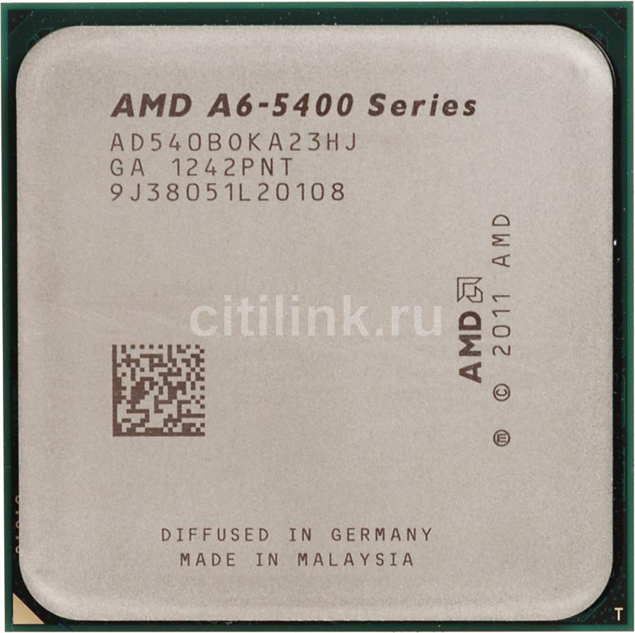 Процессор AMD A6 5400, SocketFM2 OEM [ad540boka23hj]