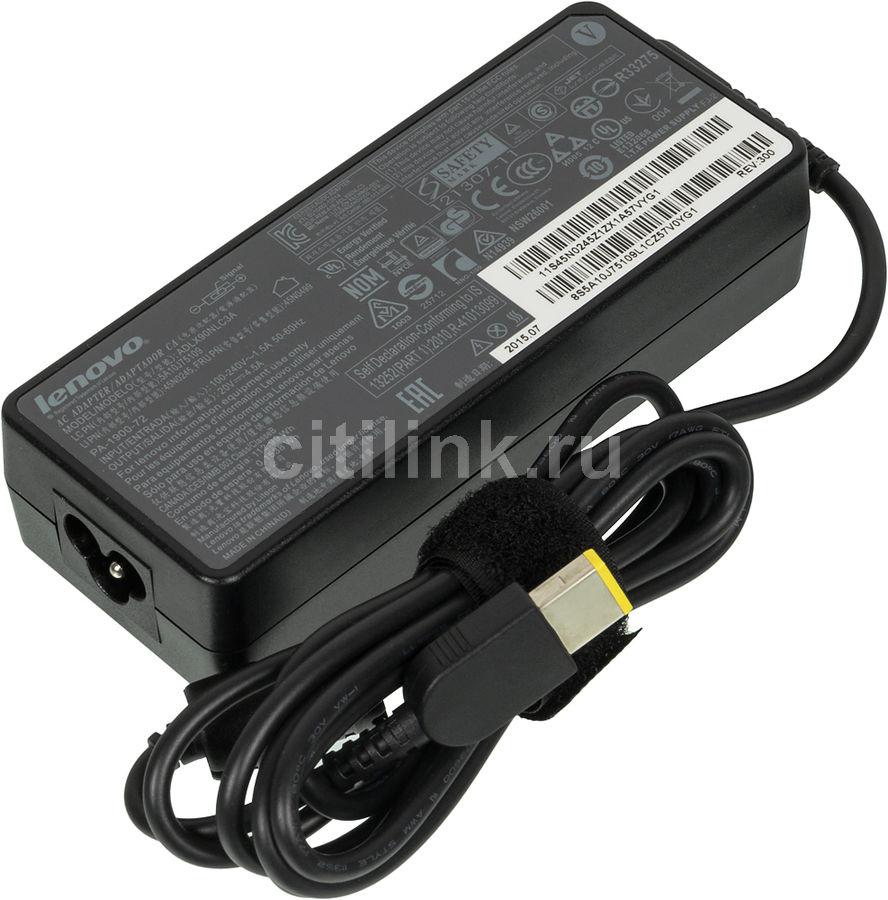 Адаптер питания LENOVO 0B46998,  90Вт,  ThinkPad X1 Carbon, черный