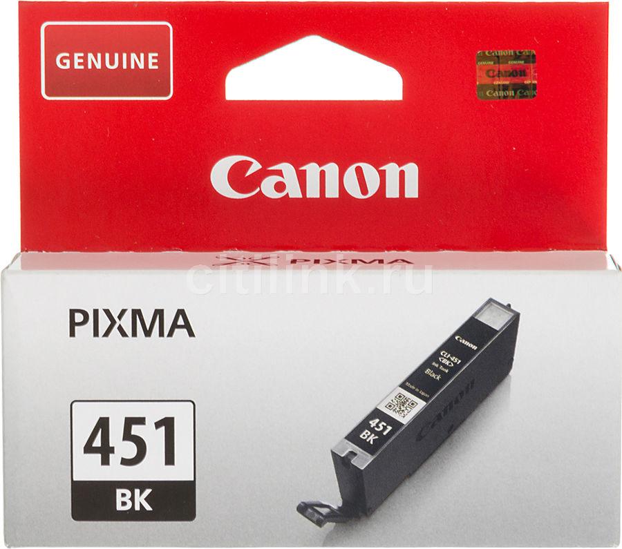 Картридж CANON CLI-451BK черный [6523b001]