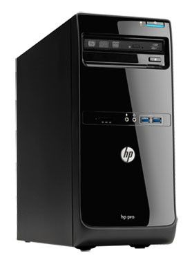 Компьютер  HP Pro 3500 MT,  Intel  Pentium  G645T,  DDR3 4Гб, 500Гб,  Intel HD Graphics,  DVD-RW,  Windows 8 Professional,  черный [b5h44ea]