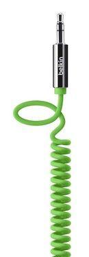 Кабель аудио BELKIN AV10126cw06-GRN,  Jack 3.5 (m)  -  Jack 3.5 (m) ,  1.2м, зеленый