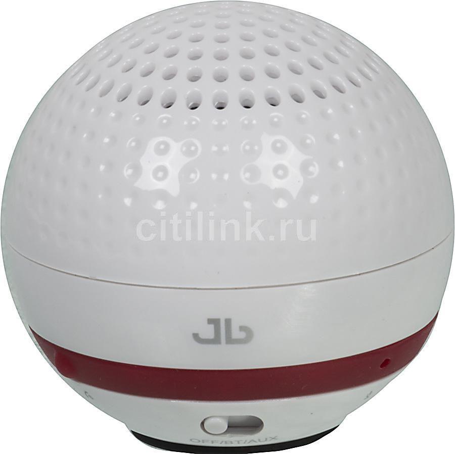 Колонки Jetbalance Golf Mono белый 2Вт беспроводные BT [golf white]