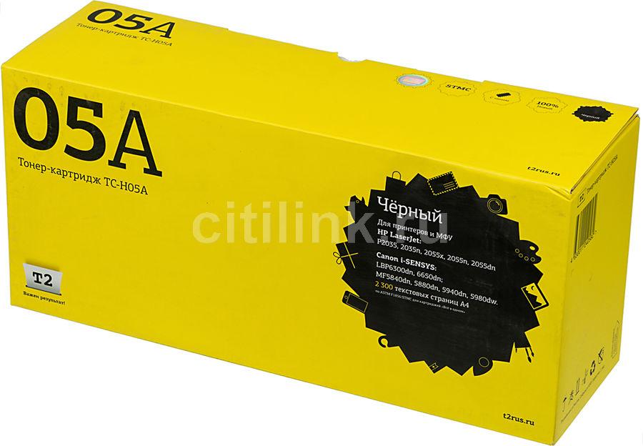 Картридж T2 CE505A черный [tc-h05a]