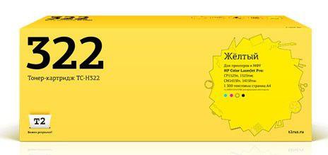 Картридж T2 CE322A TC-H322,  желтый