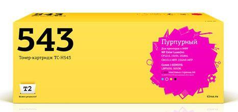 Картридж T2 CB543A пурпурный [tc-h543]