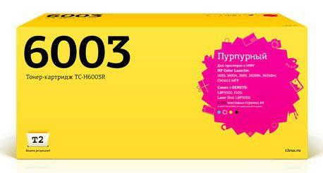 Картридж T2 Q6003A пурпурный [tc-h6003r]