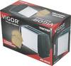 Тостер VIGOR HX-6020,  серебристый/черный вид 6