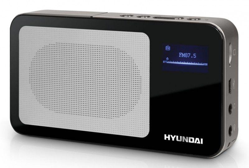 Аудиомагнитола HYUNDAI H-PS1202,  черный