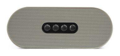 Аудиомагнитола HYUNDAI H-PS1207B,  серебристый