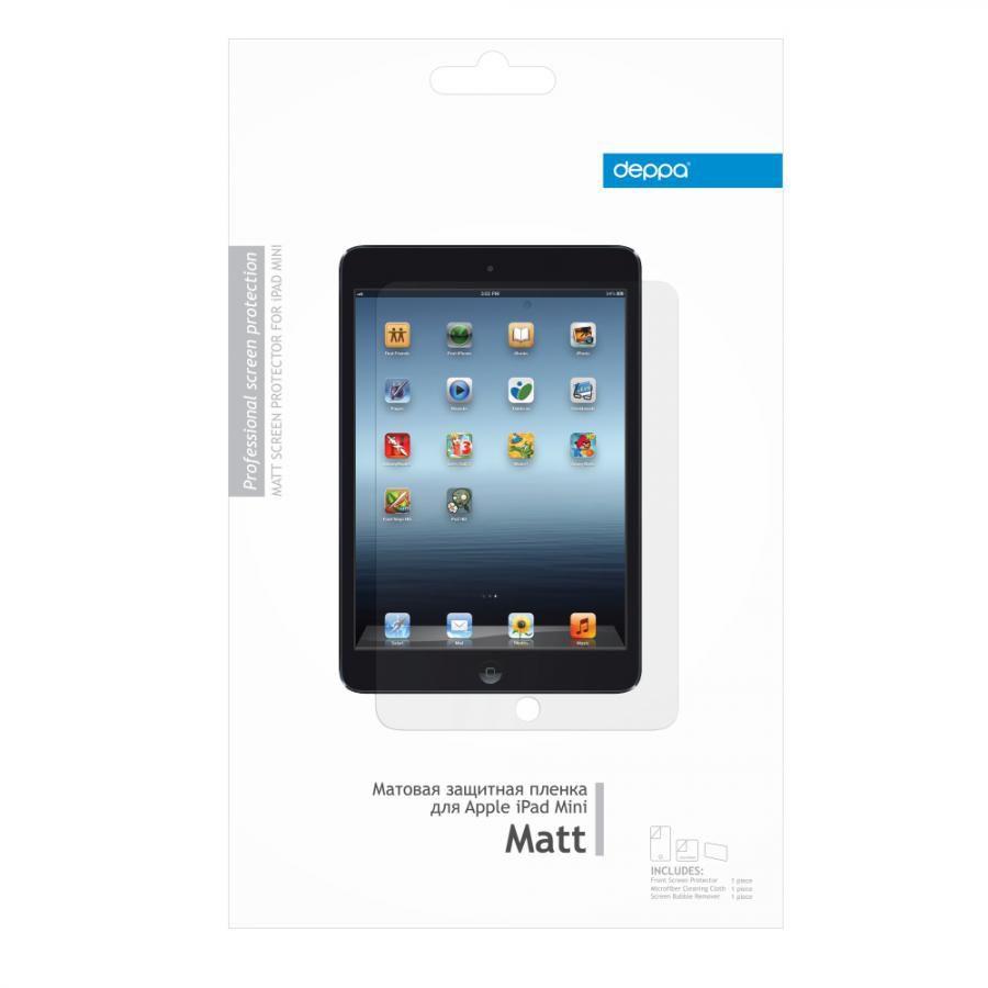 Пленка матовая защитная Deppa for Apple iPad Mini [61001]