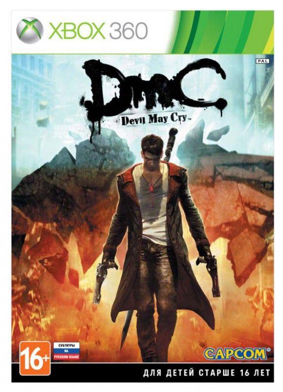 Игра MICROSOFT DmC Devil May Cry для  Xbox360 RUS (субтитры)