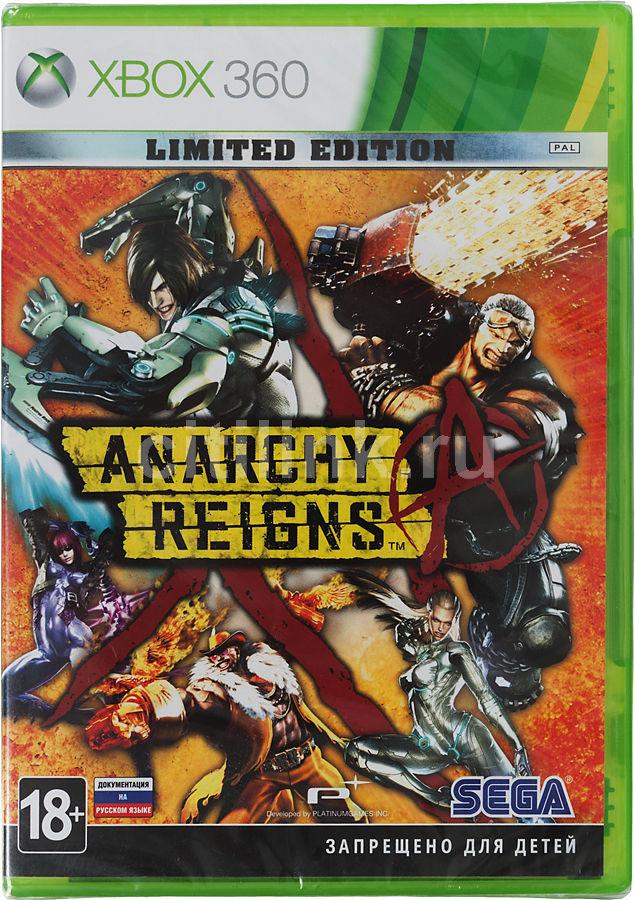 Игра SOFT CLUB Anarchy Reigns. Limited Edition для  Xbox360 Rus (документация)