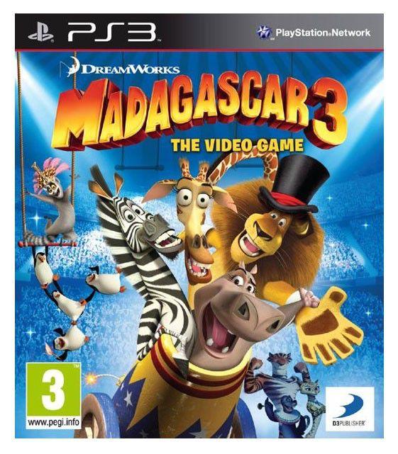 Игра SOFT CLUB Мадагаскар 3 для  PlayStation3 RUS (субтитры)