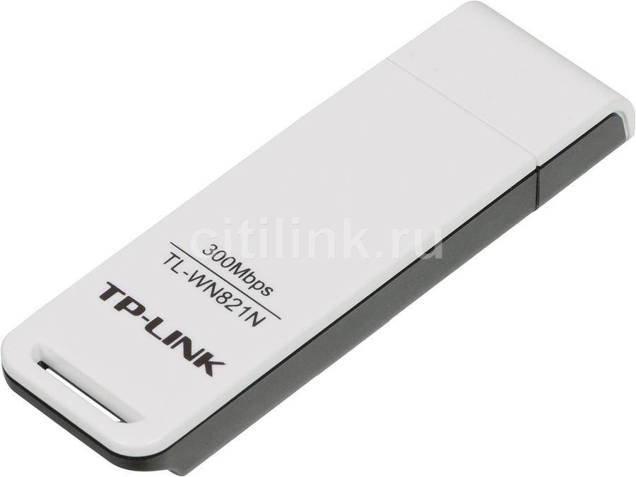 Сетевой адаптер WiFi TP-LINK TL-WN821N USB 2.0 кабель apple lightning usb tp link tl ac210 mfi