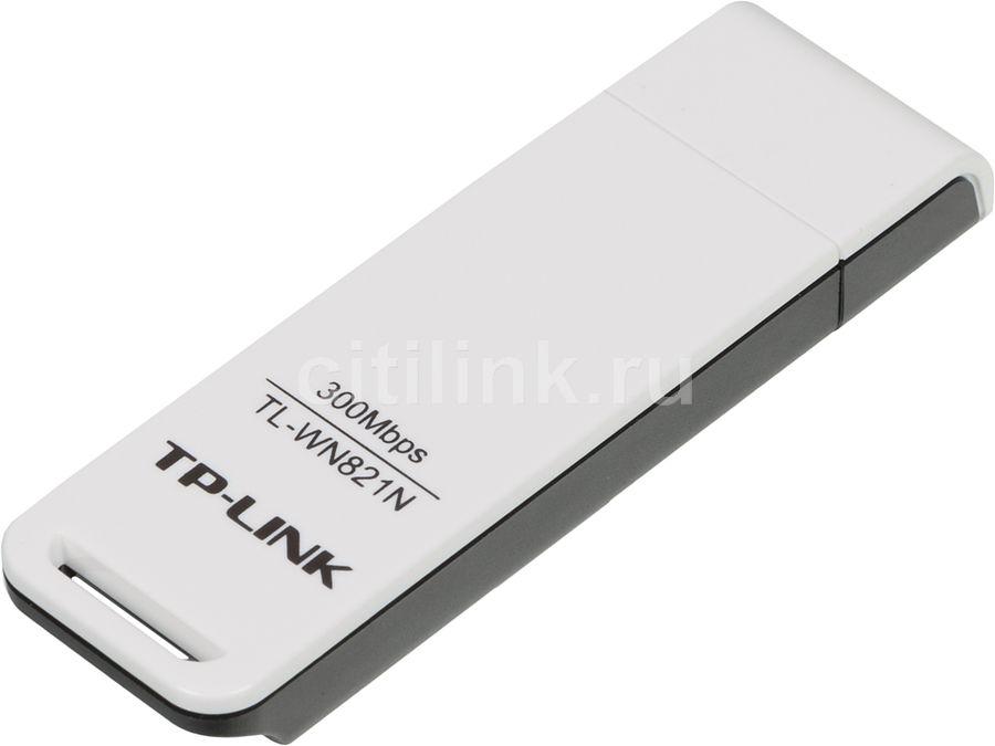 Сетевой адаптер WiFi TP-LINK TL-WN821N USB 2.0