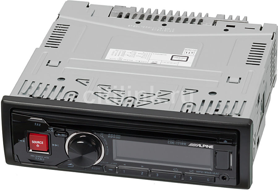 Автомагнитола ALPINE CDE-171RR,  USB