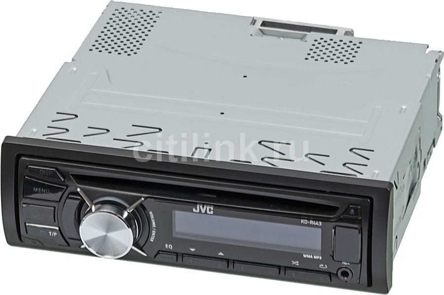 Автомагнитола JVC KD-R443EY,  USB