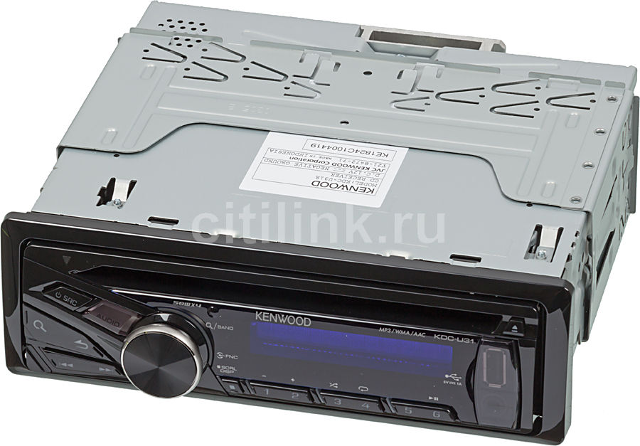 Автомагнитола KENWOOD KDC-U31R,  USB