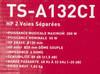 Колонки автомобильные PIONEER TS-A132CI,  компонентные,  300Вт вид 9