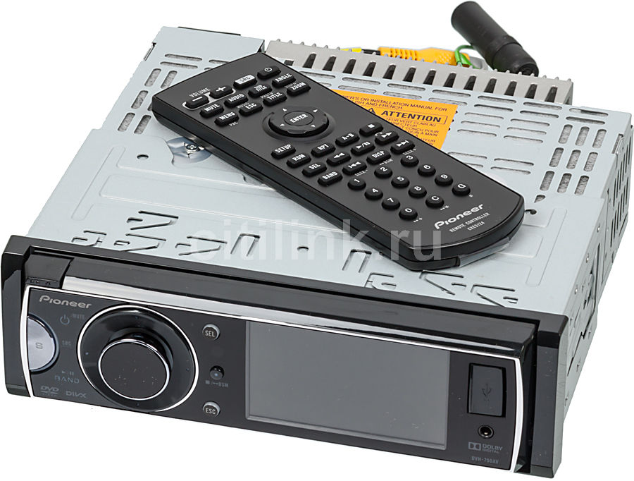 Автомагнитола PIONEER DVH-750AV,  USB