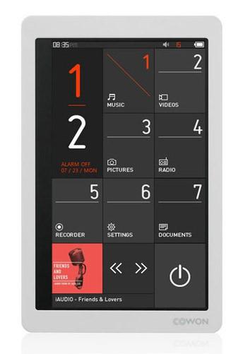 MP3 плеер COWON X9 flash 16Гб белый
