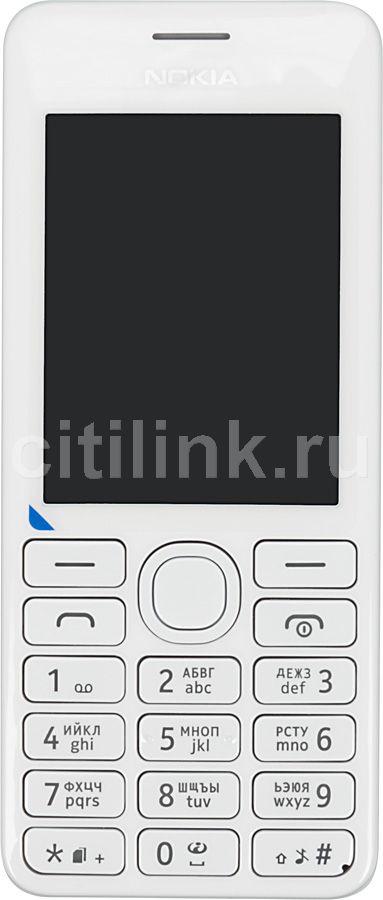 Мобильный телефон NOKIA 206 Dual Sim белый