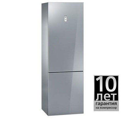 Холодильник SIEMENS KG36NS90RU,  двухкамерный,  серый