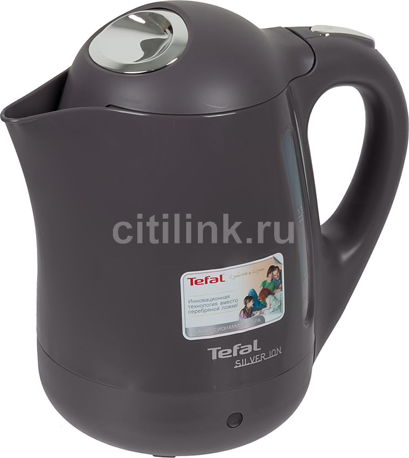 Чайник электрический TEFAL BF9259, 2400Вт, серый