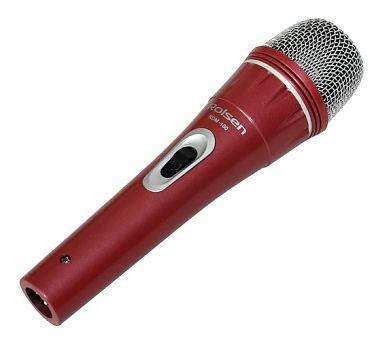 Микрофон ROLSEN RDM-100R,  красный [1-rldb-rdm-100r]