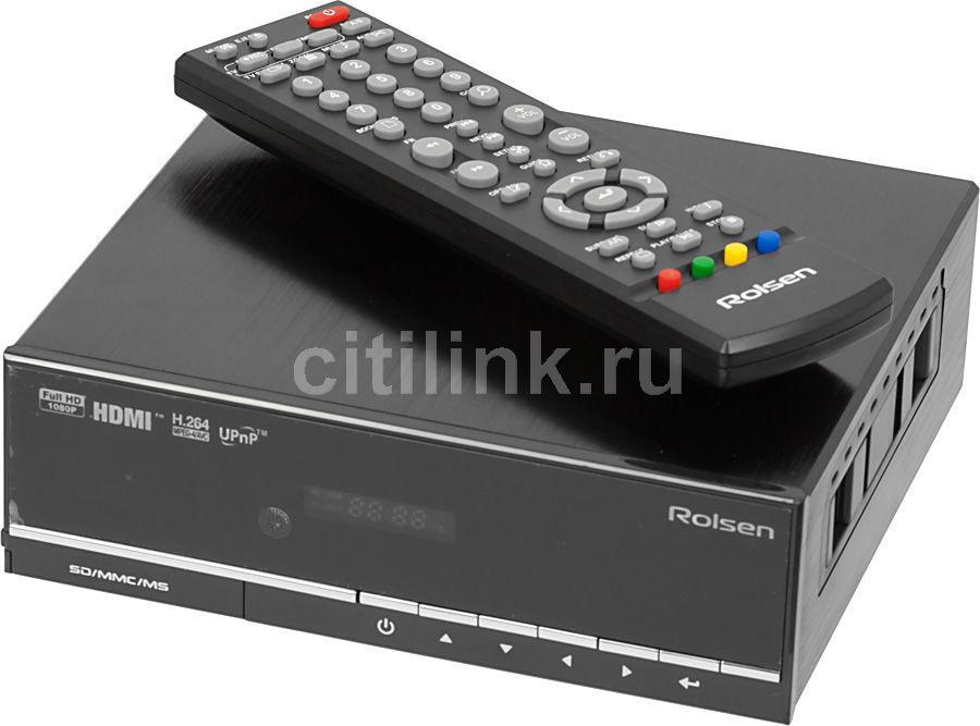 Медиаплеер ROLSEN FHD-M320,  черный