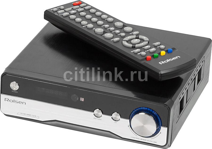 Медиаплеер ROLSEN FHD-M400,  черный