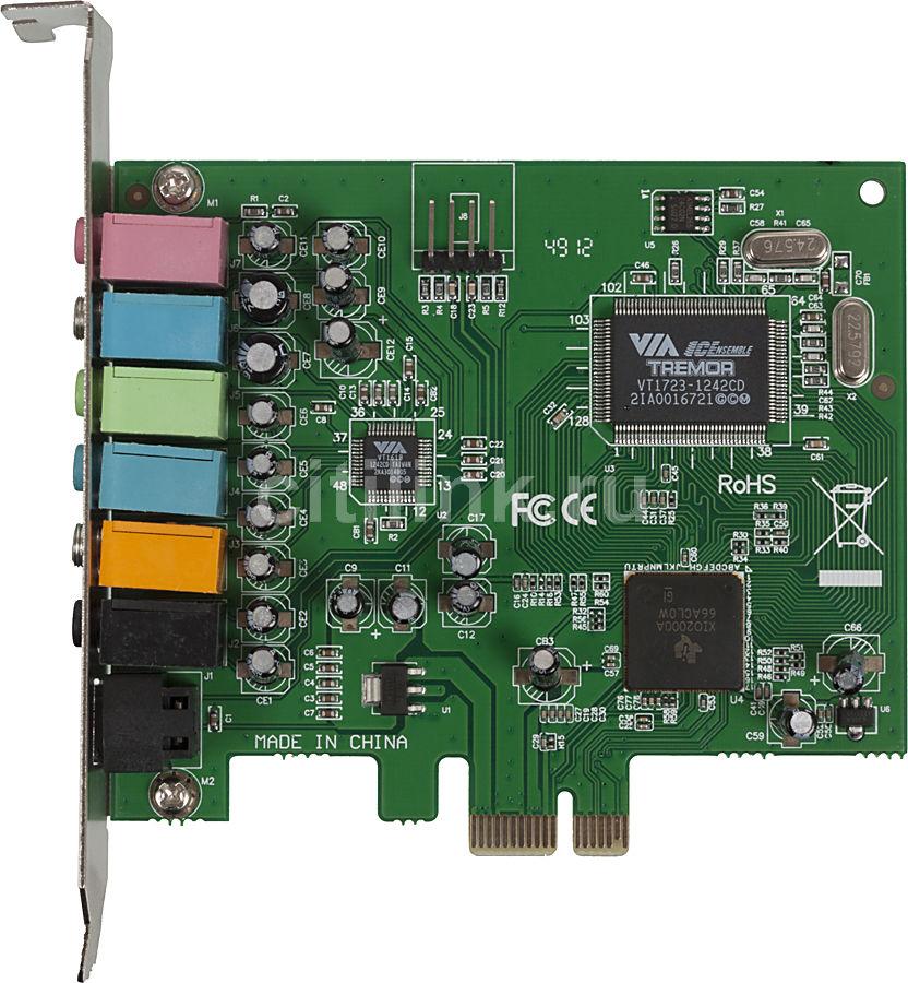 Звуковая карта PCI-E  VIA Envy24DT,  7.1, oem [asia pcie 1618 8c]