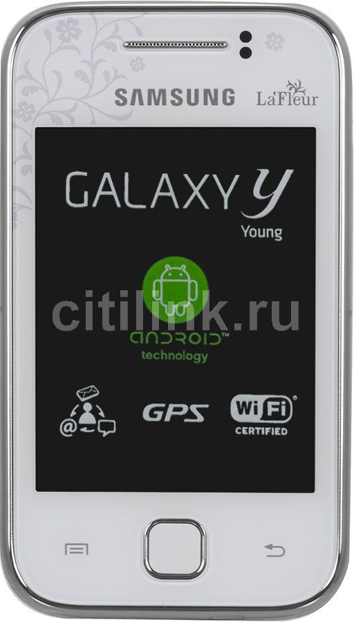 Смартфон SAMSUNG Galaxy Y La Fleur GT-S5360  белый