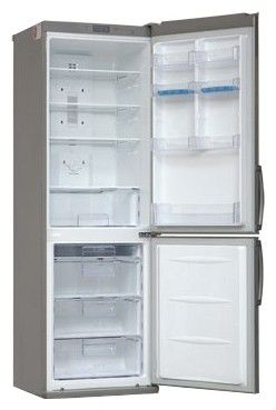 Холодильник LG GA-B379ULCA,  двухкамерный,  серебристый