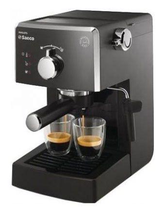 Кофеварка SAECO HD8323/09,  эспрессо,  черный