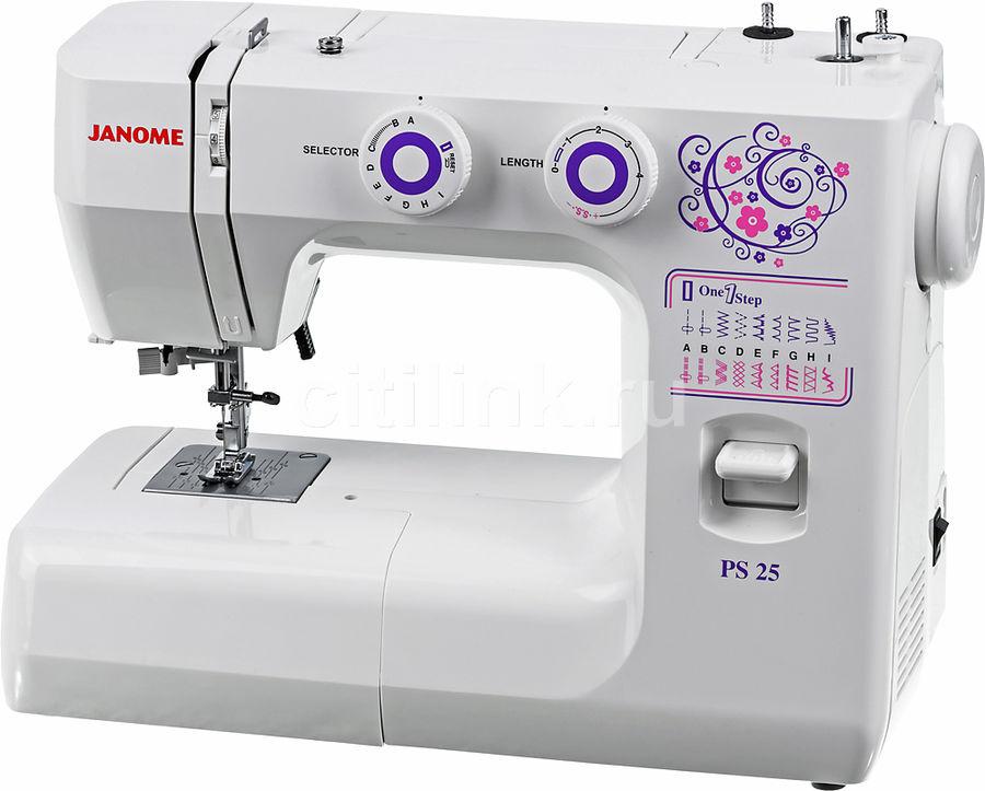 Купить <b>Швейная машина JANOME PS-25</b> белый в интернет ...