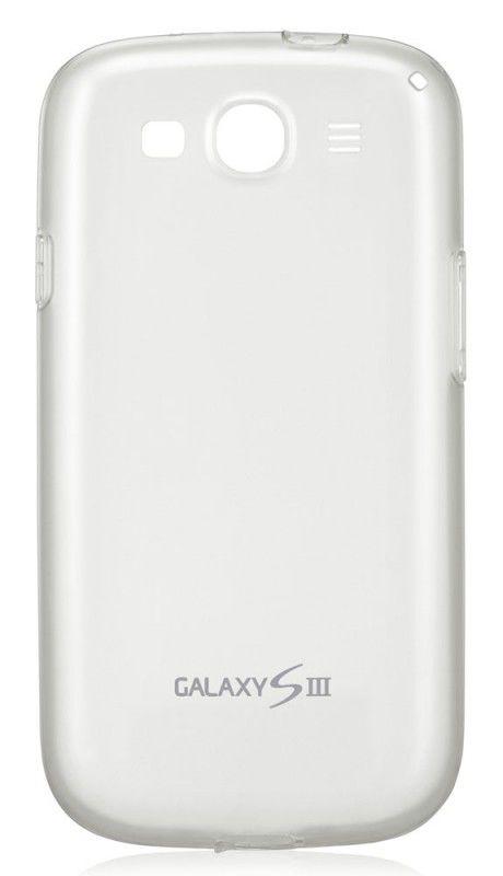 Чехол (клип-кейс) SAMSUNG EFC-1G6WWECSTD, для Samsung Galaxy S III, белый