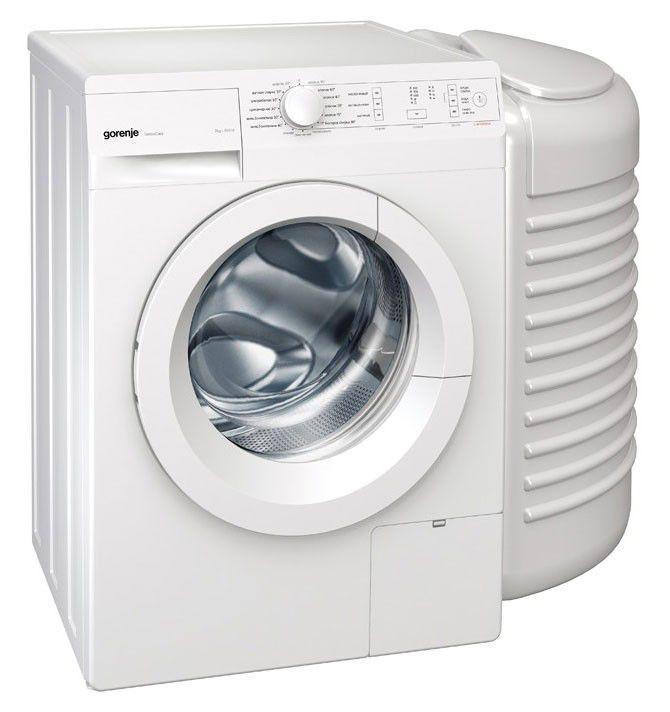 Стиральная машина GORENJE W72Y2/R + PS PL95, фронтальная загрузка,  белый